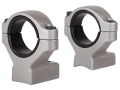 Remington 2-Piece Scope Mounts with Integral 30mm Rings, 1&quot; Inserts Remington 700 Silver High