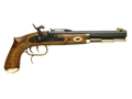 "Traditions Trapper Muzzleloading Pistol 50 Caliber Percussion 9.75"" Blued Barrel Select Hardwood Stock"