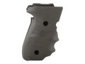 Hogue Wraparound Rubber Grips with Finger Grooves Sig P228, P229 OD Green