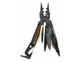 Leatherman MUT EOD Multi-Tool Black Oxide Handle with Black Oxide Pliers and Blade Black Sheath