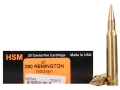 HSM Trophy Gold Ammunition 280 Remington 140 Grain Berger Hunting VLD Hollow Point Boat Tail Box of 20