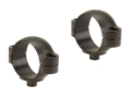 Leupold 30mm Quick-Release Rings Matte Low