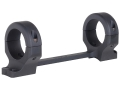 Product detail of DNZ Products Game Reaper 1-Piece Scope Base with 30mm Integral Rings Browning X Bolt Long Action Matte Medium
