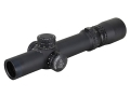 Nightforce NXS Rifle Scope 30mm Tube 1-4x 24mm Zero Stop Illuminated FC-2 Reticle Matte