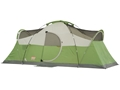 "Coleman Montana 8 Man Dome Tent 192"" x 84"" x 74"" Polyester Green, White and Gray"