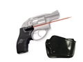 Crimson Trace Lasergrips Ruger LCR Polymer Black with Gould & Goodrich Holster