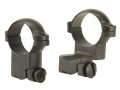 "Leupold 1"" Extended Ring Mounts Ruger #1, 77/22 Matte High"