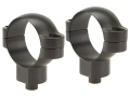 Leupold 30mm Quick-Release Rings Matte Super-High