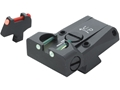 LPA TTF Adjustable Sight Set Colt A1 Series 70 Steel Fiber Optic