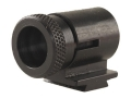 Lyman Globe Front Target Sight #17AEU .464&quot; Height .360&quot; Dovetail Steel Blue