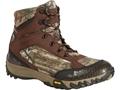 "Rocky Silenthunter 6"" Waterproof 200 Gram Insulated Hunting Boots Ripstop Mossy Oak Break-Up Infinity Camo Men's"