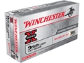 Winchester Super-X Ammunition 9mm Luger 147 Grain Silvertip Hollow Point