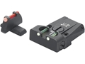 LPA TTF Adjustable Sight Set Sig P229 Steel Fiber Optic