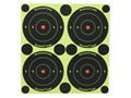Birchwood Casey Shoot-N-C Target 3&quot; Bullseye Package of 48 with 120 Pasters