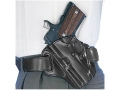 Galco Concealable Belt Holster Left Hand Sig Sauer P228, P229, Taurus 24/7 Leather Black