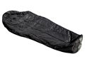 "Military Surplus MSS Intermediate Sleeping Bag 35"" x 87"" Nylon Black"