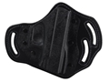 DeSantis Intimidator Belt Holster Glock 17, 19, 22, 23 Kydex and Leather Black