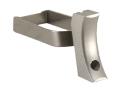 Cylinder & Slide Short Solid Trigger 1911 Aluminum Silver
