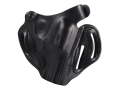 "DeSantis Thumb Break Scabbard Belt Holster Right Hand S&W J-Frame 332, 340, 342, 442, 640 2.25""Leather Black"