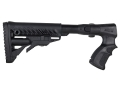 Mako M4-Style Collapsible Side Folding Buttstock Remington 870 Synthetic Black