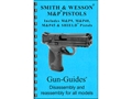 "Gun Guides Takedown Guide ""S&W M&P Pistols"" Book"