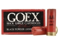 "Goex Black Dawge Black Powder Ammunition 12 Gauge 2-3/4"" 1 oz #7-1/2 Shot Box of 25"