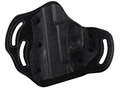 DeSantis Intimidator Outside the Waistband Holster Left Hand Smith & Wesson J Frame Kydex and Leather Black