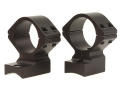 Talley Lightweight 2-Piece Scope Mounts with Integral 1&quot; Rings Winchester 70 Winchester Super Short Magnum (WSSM) Matte Medium