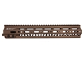 Geissele Super Modular Rail MK2 Free Float Handguard AR-15 Aluminum Sand 13&quot;