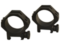 Weaver 30mm Tactical 4-Hole Picatinny-Style Rings Matte Medium- Blemished