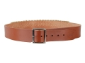 "Hunter Cartridge Belt 2"" 38 Caliber 25 Loops Leather Brown XL"