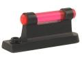 NECG Masterpiece Ramp Interchangeable Front Sight Steel with Red Fiber Optic Bead