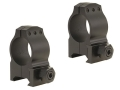 Product detail of Warne 1&quot; Tactical Picatinny-Style Rings Matte Medium