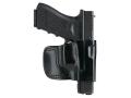 Gould & Goodrich B891 Belt Holster Right Hand HK P2000, P2000HK, USP 9 Compact, USP 357 Compact, USP 40 Compact, USP 45 Compact, USP 9, USP 40, USP 45 Leather Black