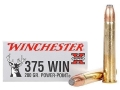 Winchester Super-X Ammunition 375 Winchester 200 Grain Power-Point