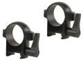"Burris 1"" Quick-Release Weaver-Style Rings Matte Medium"