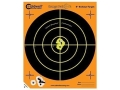 Caldwell Targets Orange Peel Factory Seconds 8&quot; Self-Adhesive Bullseye 25 Sheet Pack