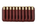 Boyt Ammo Wallet Rifle Ammunition Carrier 10-Round 7mm Remington Magnum to 470 Nitro Express Leather Brown
