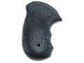 Pachmayr Diamond Pro Grips S&W J-Frame Round Butt