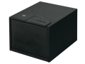 Stack-On Quick Access Safe with Biometric Lock Black