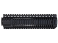 Product detail of SI Defense 2-Piece Customizable Quad Rail Free Float Handguard LR-308 Mid Length Matte