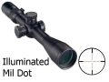 Nikon Monarch X Rifle Scope 30mm Tube 2.5-10x 44mm Side Focus Illuminated Mil-Dot Reticle Matte