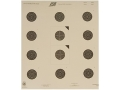 Product detail of NRA Official USA Shooting Smallbore Rifle Target USA-50 50&#39; Paper Package of 100