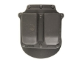 Fobus Roto Paddle Double Magazine Pouch Double-Stack 9mm Luger, 40 S&amp;W Polymer Black