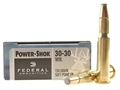 Product detail of Federal Power-Shok Ammunition 30-30 Winchester 150 Grain Soft Point Flat Nose Box of 20