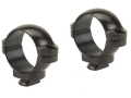 "Leupold 1"" Dual-Dovetail Rings Gloss Low"