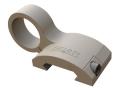 "Gear Sector Offset Picatinny Rail Flashlight Mount Surefire E-Series .825"" Ring Diameter AR-15 Aluminum"