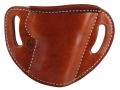 El Paso Saddlery #88 Street Combat Outside the Waistband Holster Right Hand Smith & Wesson M&P 9/40 Leather Russet Brown