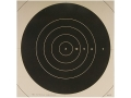 NRA Official High Power Rifle Targets Repair Center MR-52C 200 Yard Slow Fire Paper Package of 100