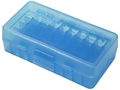 MTM Flip-Top Ammo Box 380 ACP, 9mm Luger 50-Round Plastic